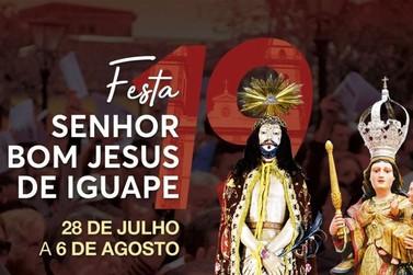 Festa do Senhor Bom Jesus de Iguape 2019 começa domingo