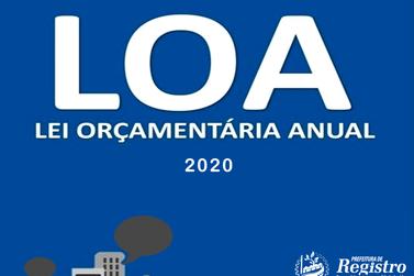 Audiência Pública discute Lei Orçamentária Anual 2020