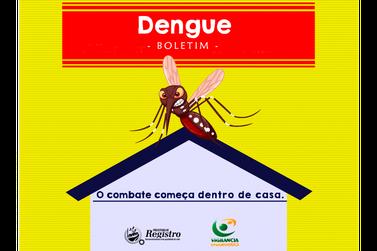 Números atualizados mostram Registro com 188 casos de dengue confirmados