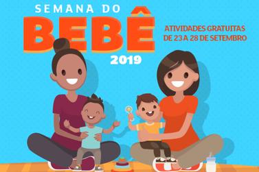 Cidade promove Semana do Bebê 2019