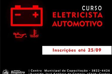 Em Registro, qualificação profissional gratuita na área automotiva