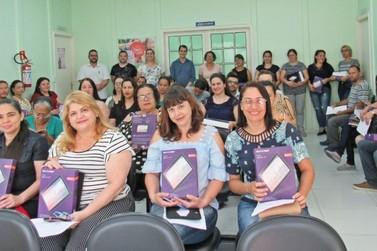 Agentes Comunitários de Saúde de Miracatu recebem tablets