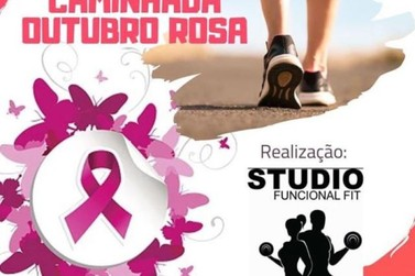 Caminhada de Conscientização ao Câncer de Mama será realizada neste sábado (26)