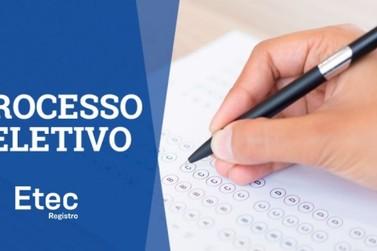ETEC de Registro abre cadastro de reserva para docentes