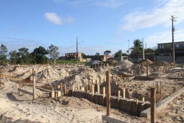 Obra da Creche Escola no balneário Porto Velho está a todo vapor