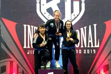 Registrense Daniele Kaori é Ouro e Prata no Brazilian Jiu Jitsu