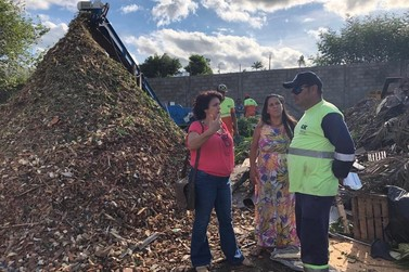 Vereadora pede intervenção da CETESB no lixão