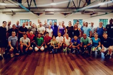 Câmara Técnica do Esporte do CODIVAR participa de curso de metodologia no SESC