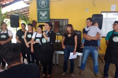 Festival Gastronômico marca etapa de curso de capacitação do Sindicato Rural