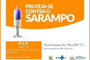 Iniciada a 2ª fase da vacinação contra o Sarampo