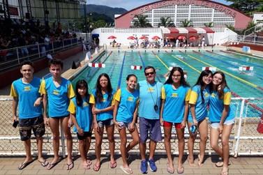Natação de Registro traz sete medalhas de Torneio Regional em Santos