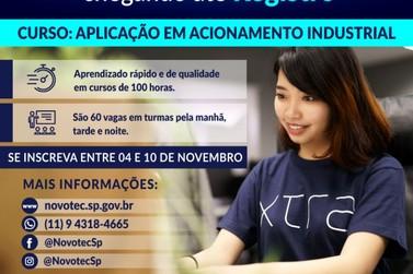 Novotec Móvel prorroga inscrições para curso na área de Produção industrial