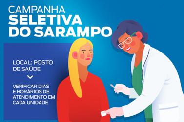 Postos de Saúde têm horários específicos para Campanha de Vacinação do Sarampo