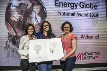 Projeto de saneamento rural recebe prêmios da Fundação BB e da Energy Globe