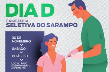 Sábado é o Dia D da Campanha de Vacinação contra o Sarampo