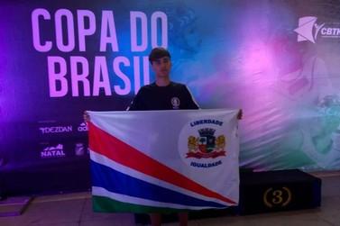 Atleta do Vale do Ribeira se destaca em Copa do Brasil de Tae-kwon-do