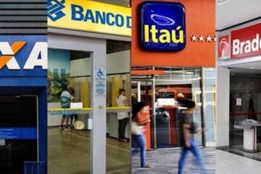 Bancos não funcionarão dias 31 de dezembro e 1º de janeiro