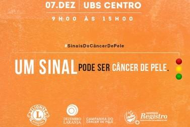 Campanha Nacional de prevenção ao Câncer de Pele chega em Registro