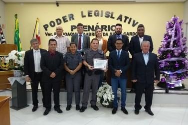 Policiais Militares são homenageados pela Câmara Municipal de Eldorado