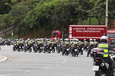 Vale do Ribeira e Baixada Santista vão receber 88 viaturas
