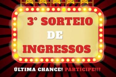 Terceiro e último sorteio de ingressos para o Circo Portugal Internacional