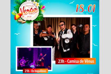 A lendária Camisa de Vênus vai estar no Festival Verão de Cananéia 2020