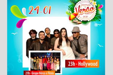 Banda Hollywood se apresenta hoje no Festival de Verão de Cananéia