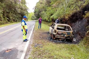 Corpo carbonizado é encontrado em estrada no Vale do Ribeira
