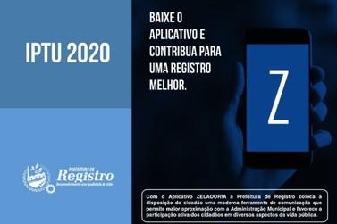 Em Registro, carnês do IPTU 2020 já estão sendo entregues