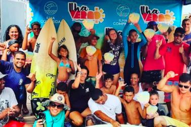Torneio de Surf do Ilha Verão 2020 foi disputado em cinco categorias