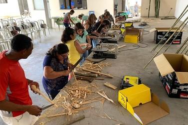 Estação Ecológica dos Chauás realiza oficina sobre o cultivo do bambu