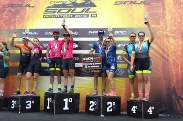 Ciclistas de Registro conquistam bons resultados na Copa Soul no Paraná