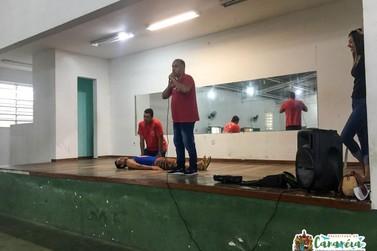 Professores de Cananéia fazem treinamento de Primeiros Socorros
