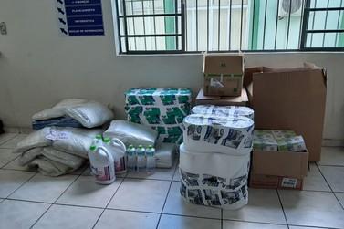 Senac Registro doa materiais de higiene e equipamentos de proteção individual