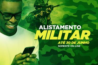 Alistamento militar somente on-line