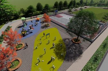Prefeitura inicia obras de construção de Parque Esportivo em Sete Barras
