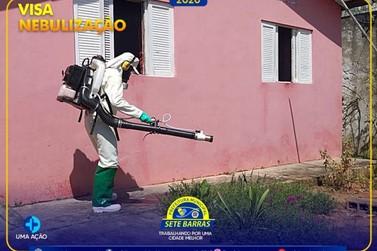 Sete Barras faz nebulização para combater a dengue na cidade