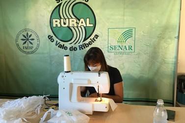 Sindicato Rural do Vale e SENAR produzem mais de 12 mil máscaras