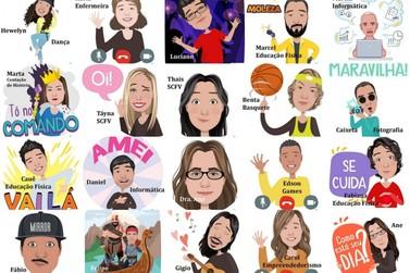 Conheça os avatares dos professores e profissionais do projeto Ilha Jovem