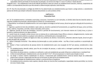Prefeitura de Registro publica decreto que recua à fase laranja do Plano SP
