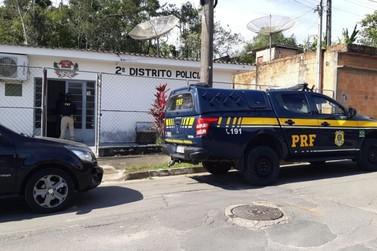 PRF captura foragido da justiça