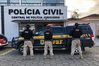 PRF e Polícia Civil realizam operação de combate ao roubo de cargas