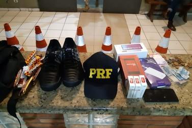 PRF prende suspeito de furtar comércio em Barra do Turvo