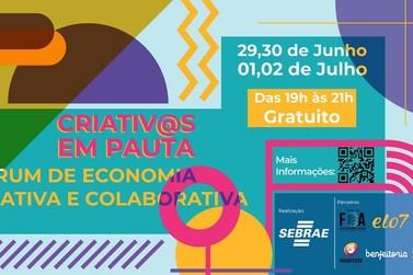 Sebrae-SP lança fórum online gratuito de economia criativa