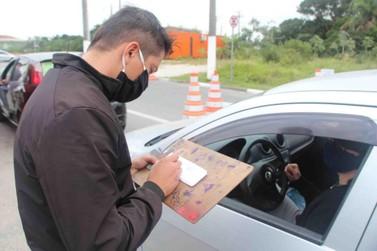 460 veículos de proprietários de imóveis entraram em Ilha Comprida