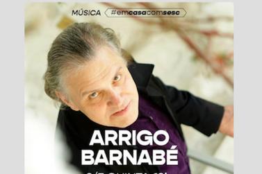 Arrigo Barnabé revoluciona a live musical do Sesc SP, hoje, às 19h