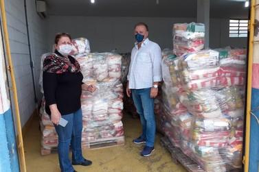 Educação de Registro inicia distribuição de mais de 6 mil cestas