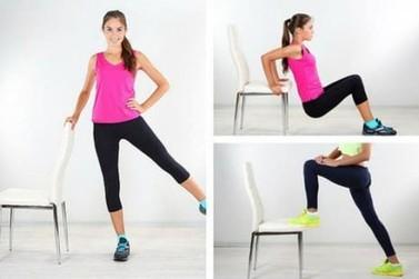 Hoje tem aula com exercícios para fortalecimento geral do corpo, às 19h