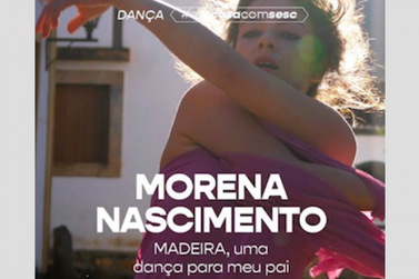 Morena Nascimento apresenta dança-improviso, hoje, às 21h30