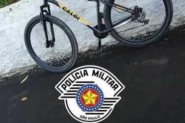 PM recebe agradecimento por recuperar bicicleta furtada